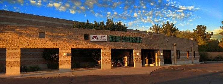 Home Page Banner I-17 Thunderbird Self Storage